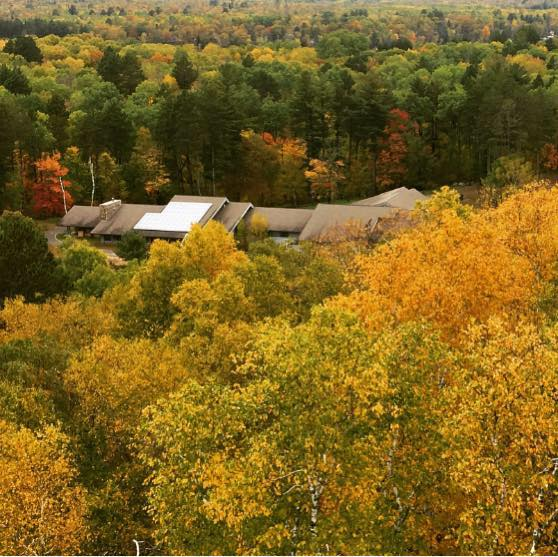 See the best autumn colors at Deep Portage Learning Center